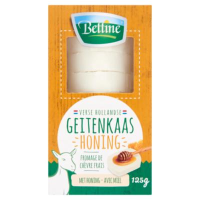Bettine Verse geitenkaas honing schijfjes