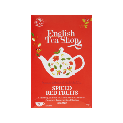 English Tea Shop Spiced Red Fruits 20 Stuks