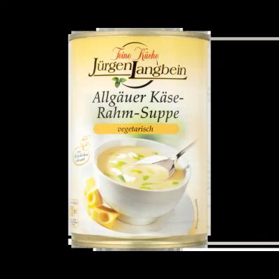 Jürgen Langbein Kaas Room Soep Vegetarisch