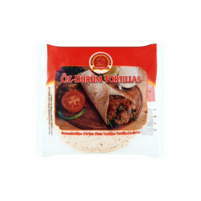 Yufka Mamülleri Öz-Dürüm Tortillas 16 Stuks