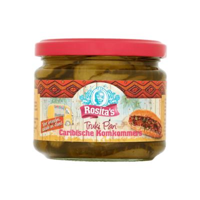 Rosita's Truki Pan Caribische Komkommers