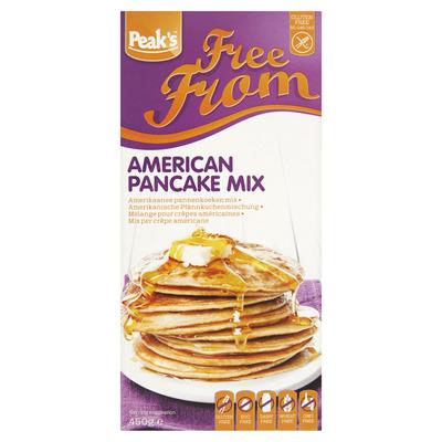 Peak's American pancake mix glutenvrij