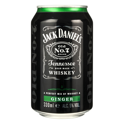 Jack Daniels Whiskey ginger