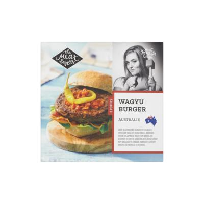 The Meat Lovers Wagyu Burger Australie (Diepvries)