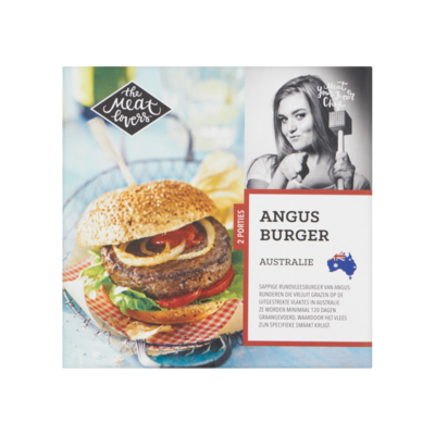 The Meat Lovers Angus Burger Australie (Diepvries)