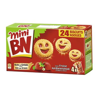 BN Mini biscuits aardbei