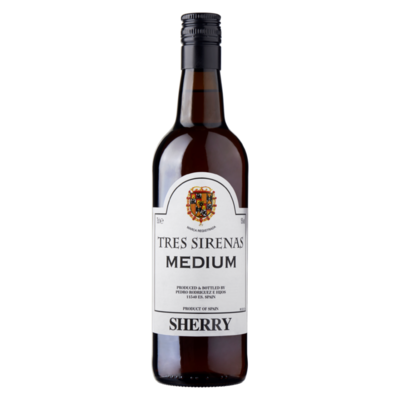 Tres Sirenas Medium Sherry