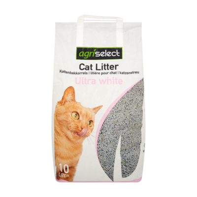 Agriselect Kattenbakkorrels Ultra White