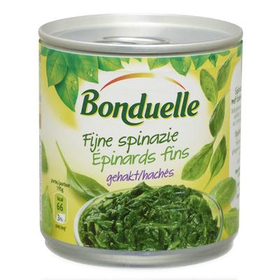 Bonduelle Fijne spinazie gehakt