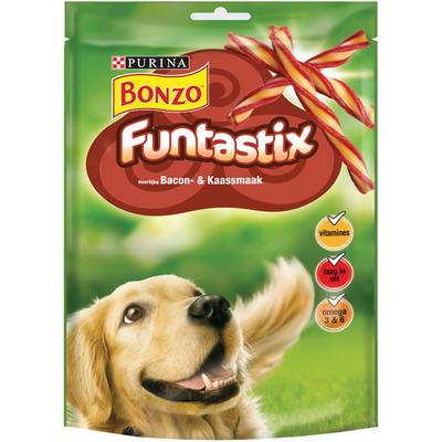 Bonzo Funtastix bacon en kaas