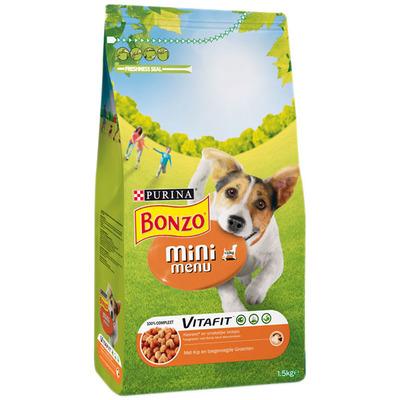 Bonzo Vitafit Mini Menu met Kip en Groenten