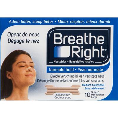 Breathe Right Neusstrips large normale huid