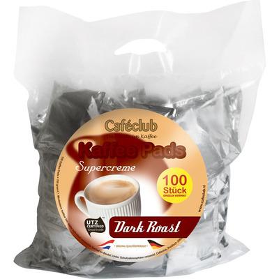 Caféclub Kaffee pads dark roast
