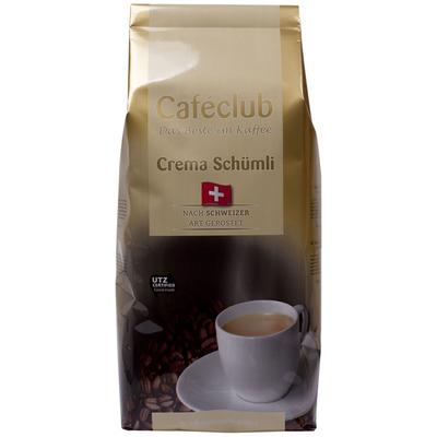 Caféclub Kaffeebohnen Schweizer schumli