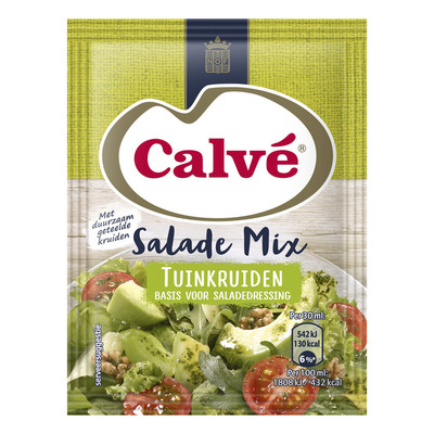 Calvé Salademix tuinkruiden