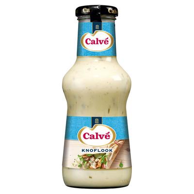 Calvé Saus fles knoflook