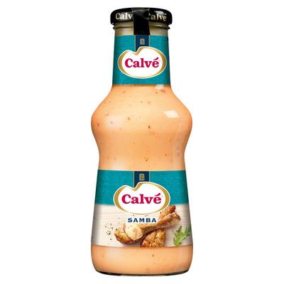 Calvé Saus fles samba