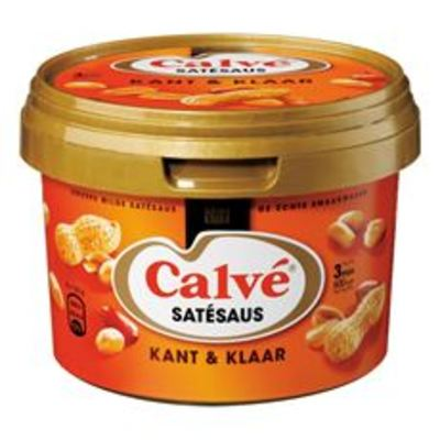 Calvé Satésaus Kant & Klaar 500 gram